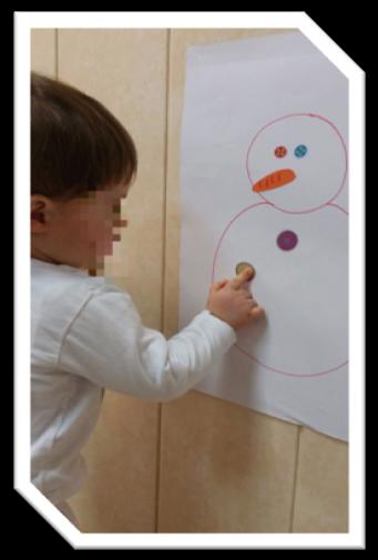 dibujo muñeco de nieve